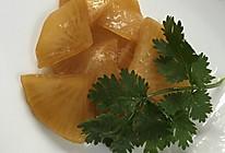 腌制白萝卜的做法