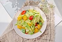 节后减脂清胃菜❤️清炒西葫芦片的做法