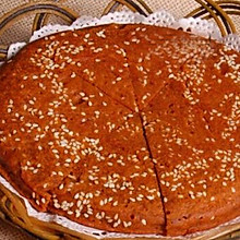荞麦芝麻饼