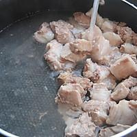 香菇莲藕炖排骨#金龙鱼外婆乡小榨菜籽油 最强家乡菜#的做法图解3