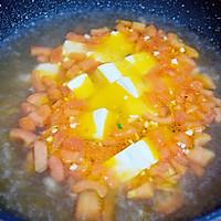 番茄金针菇豆腐汤的做法图解6