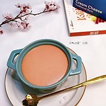 #元宵节美食大赏#草莓乳酪布丁