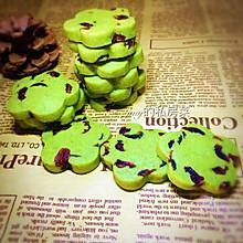 抹茶蔓越莓曲奇饼干#百吉福芝士力量#