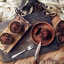 重巧克力玛芬蛋糕