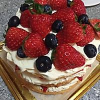 草莓裸蛋糕的做法图解5