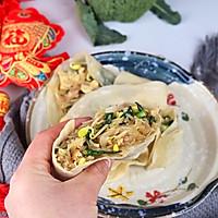 #新春美味菜肴#新年卷饼不漏财:鸡蛋粉丝卷春饼的做法图解26