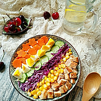 彩虹沙拉――增肌减脂两不误的健身餐的做法图解13