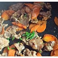 爆炒胡萝卜炒牛肉片(孕妇、爱美人士美容养颜优质蛋白餐)的做法图解10
