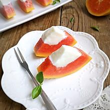 木瓜奶冻#硬核菜谱制作人#