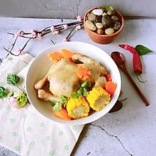 #肉食者联盟#整只鸡的蔬菜煲更精彩