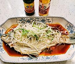 鲜嫩快手清蒸武昌鱼的做法