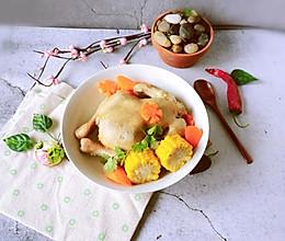 #肉食者联盟#整只鸡的蔬菜煲更精彩的做法