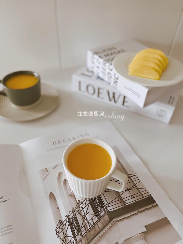 香甜可口【胡萝卜玉米汁】的做法