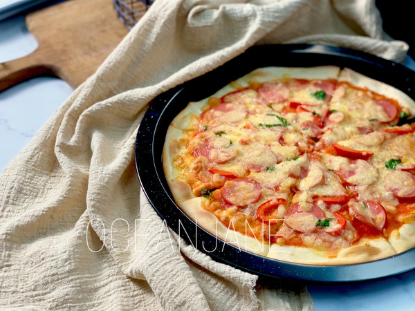【意味】意大利披萨 自制PIZZA酱的做法