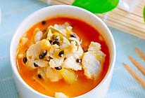 百香果酸汤鱼的做法