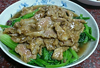 菠菜炒瘦肉的做法