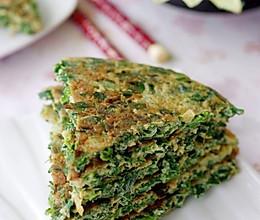 鲜美春韭煎蛋饼 —— 春季美食的做法
