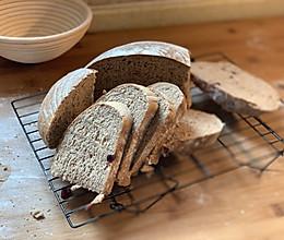 无油低糖黑麦面包,无需出膜直接法的做法
