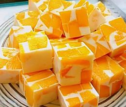 椰奶芒果冻的做法