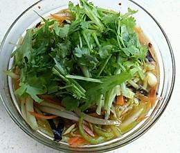 捞拌杂蔬的做法
