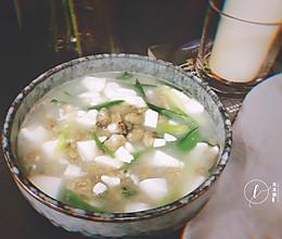 私房【海蛎豆腐汤】的做法