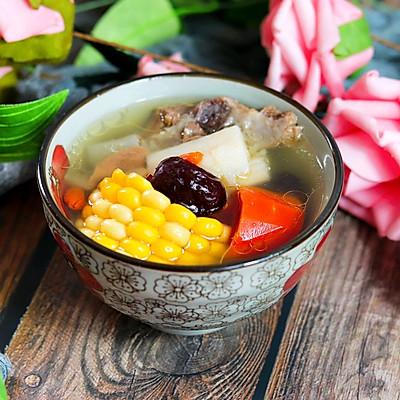 健脾養胃山藥玉米排骨湯