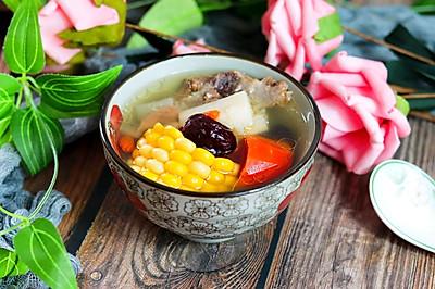 健脾养胃山药玉米排骨汤