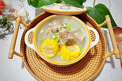 养生排骨玉米冬瓜汤