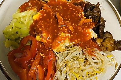 【韩国拌饭】在家就能做地道韩国美食