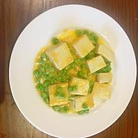 蛋黄烩豆腐的做法图解4