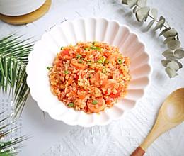 简单快手好吃不长胖的番茄火腿烩魔芋米饭#中秋团圆食味#的做法