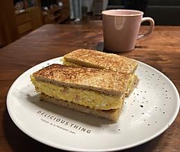 #白色情人节限定美味#红遍便利店的土豆泥沙拉三明治