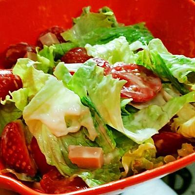 水果蔬菜沙律