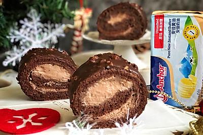 梦龙巧克力蛋糕卷