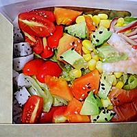 蔬果海鲜轻体沙律