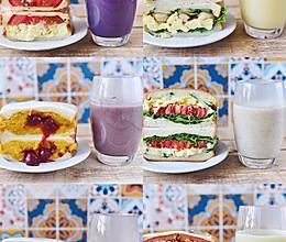 一周三明治豆浆不重样的做法