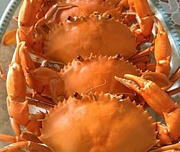 简单易学的蒸螃蟹的做法