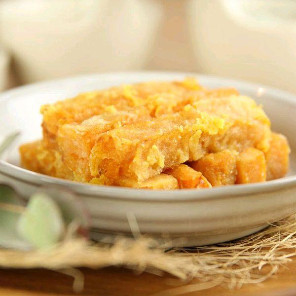 5分钟搞定咸蛋黄焗南瓜的做法