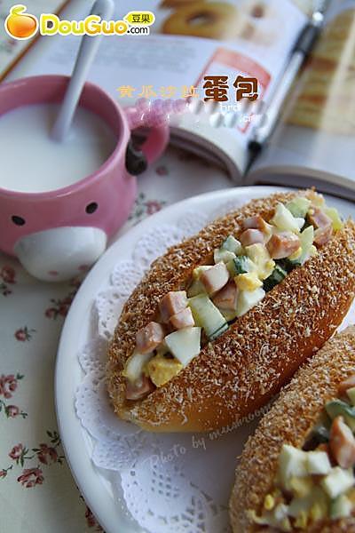 黄瓜沙拉蛋包的做法