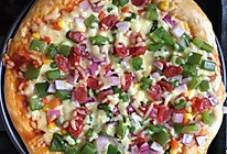 10寸田园披萨的做法