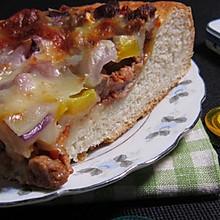 洋葱彩椒牛肉披萨