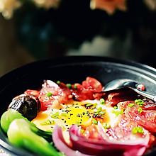 【今日午餐】阳光下的暖暖广式腊肠煲仔饭