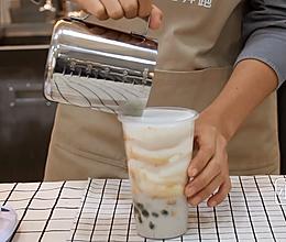 喜茶首款热饮芋泥波波茶的做法——小兔奔跑奶茶教程的做法