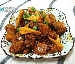 竹笋烧肉的做法