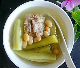 排骨黄豆苦瓜汤的做法