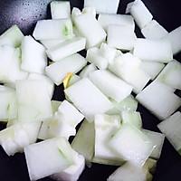 蚝油虾皮炒冬瓜#就是红烧吃不腻!#的做法图解5