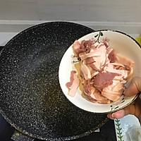 五花肉干煸有机花菜-在家做出饭店的味道#一机多能 一席饪选#的做法图解3