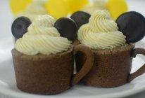 萌萌哒——米奇慕斯杯子蛋糕的做法