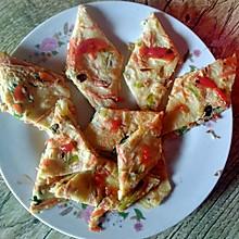 萝卜丝鸡蛋饼