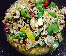 辣椒炒羊肉的做法